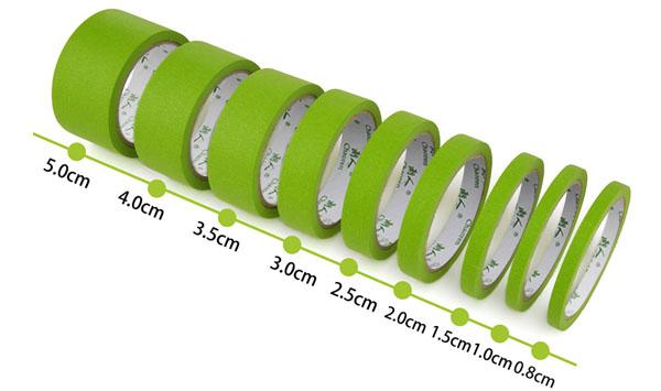 绿色美纹纸胶带